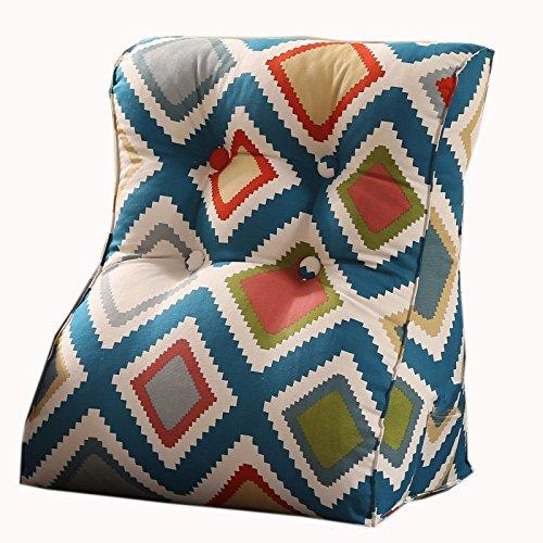 uus Simple Triangle moderne Canapé Coussin Siège de la chaise Coussin de coussin carré utile Ralentissement lent Design ergonomique Dossier confortable 45 * 55cm / 55 * 60cm ( taille : 55*60cm )