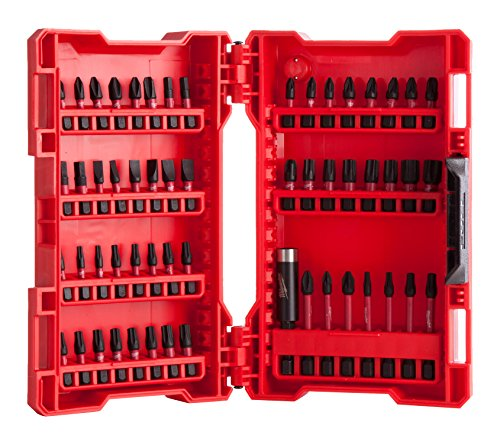 Milwaukee Schraub - SET 4932430907 56 tlg. SHOCKWAVE GEN II, Rot