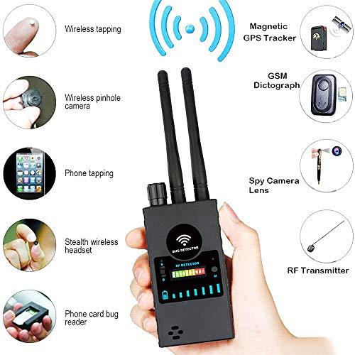 Power Banks draadloos signaal anti-spion-signaal RF dubbele antenne met hoog frequentiesignaal tracer GSM GPS tracker vinder locator gevoeligheid professionele detector veegmachine
