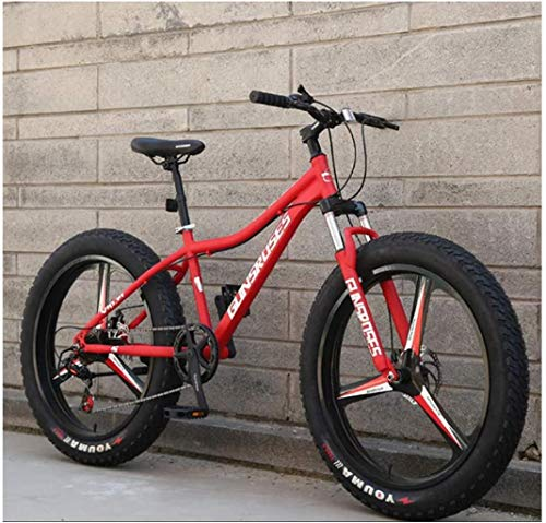 Best Bargain 26 Inch Adult Mountain Bikes, High-Carbon Steel Hardtail Mountain Bicycle, Fat Tire All...