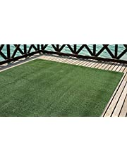 Cesped artificial Premium. Altura de 7mm. Rollos de 2x5 metros Para terraza, jardín, valla, piscina, perro etc (2x5)