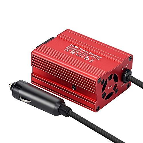 ER827QI 150W 3.1A energía del Coche de la CC del inversor 12V a AC 110V / 220V USB de Doble convertidor adaptadores de mechero Enchufe Especial (Color Name : EU)
