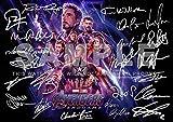 Avengers Endgame Print RDJ, Stan Lee, Chris Pratt, Tom