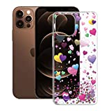 KJYF Funda para iPhone 13 (6.1'), Premium Gel Protector Bumper Caso Case, Transparente Silicona Suave TPU Carcasa, Anti-Arañazos Fina Fundas para iPhone 13 - Globo romantico