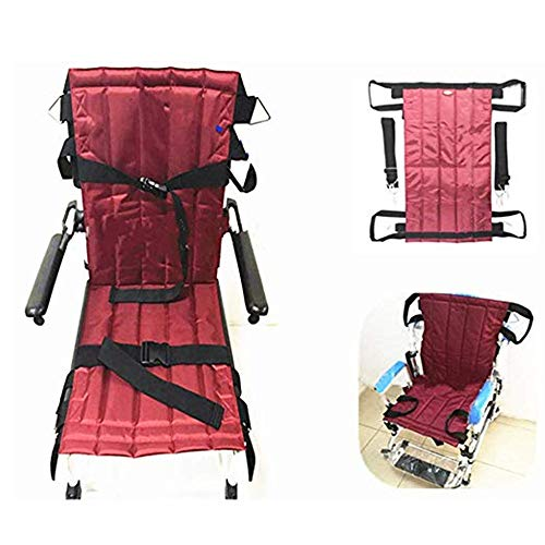Jeamive Foldable Patient Lift Stair Slide Board,Mobility Aids Equipment Transfer Emergency Evacuation Wheelchair Belt…