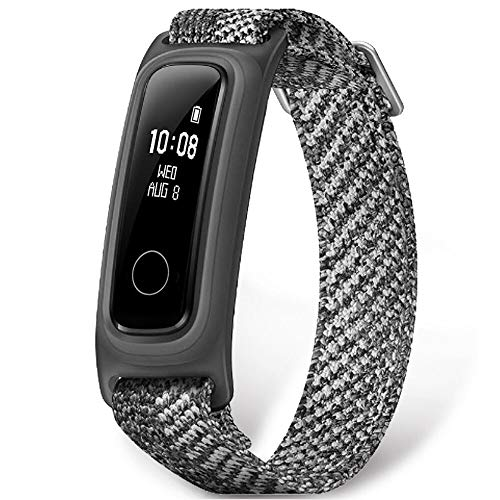 HONOR Band 5 Sport smartwatch Pulsera de Actividad Inteligente Reloj Impermeable IP68, Monitor de Sueño, Podómetro Fitness Tracker Gris (Versión Global)