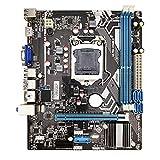 XIANZI H61 LGA 1155 - Placa base (DDR3, Dual Channels Memory 16 G para H61 LGA1155 Core I3 I5 I7 Xeon CPU 1155)
