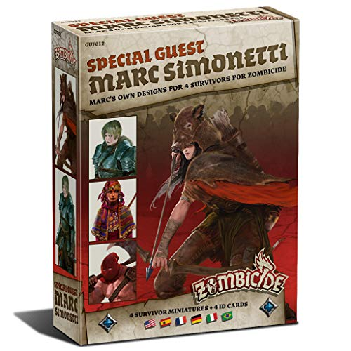 test Edge Entertainment-Zombieseite Schwarz Pest-Mark Simonetti Special Guest Box, Farbe (EECMZB20) Deutschland