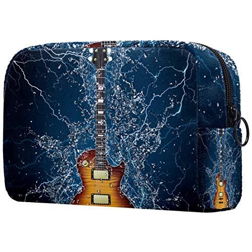 Bolsa de cosméticos para Mujeres Guitarra eléctrica bajo el Agua Bolsas de...