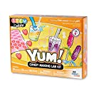 hand2mind Candy Making Kit Science Kit for Kids 8-12, Candy for Kids Science Kit with Fact-Filled Guide, Rock Candy Sticks, Gummy Worms Candy Lab, STEM Toys, 16 Science Experiments
