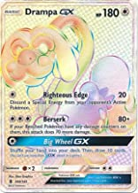 Pokemon Drampa-GX - 160/145 - Secret Rare - Sun & Moon: Guardians Rising