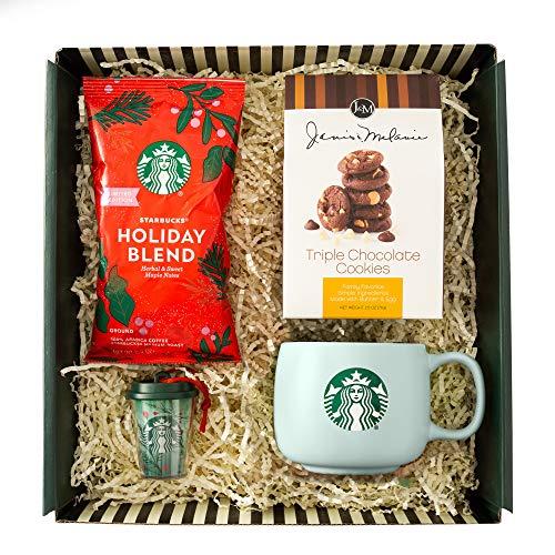 Starbucks 5274341 Gift Geschenkbox mit Grußkarte, Mehrfarbiges Geschenk-Set