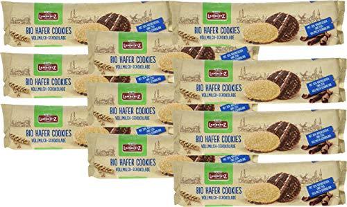 Lambertz Hafer Cookies Vollmilch Schokolade 10 x 200 g MHD 30/06/2020