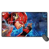 新品 The Flash フラッシュ 17 人気 マウスパッド 大型 ゲーミング デスクマット Pcマット ゲーミングマウスパッド 防水 滑り止ブルクロス75×40サイズ