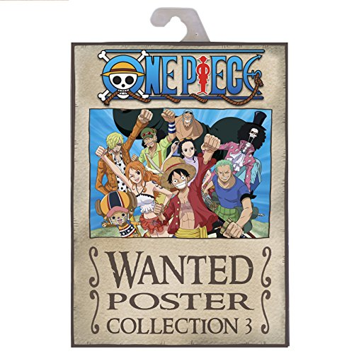 ABYstyle - ONE PIECE - Portfolio 9 posters wanted - Luffy's crew (21x29,7)