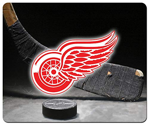 Red Wings Hockey Large Rectangular Mousepad Mouse Pad Great Gift Idea Detroit