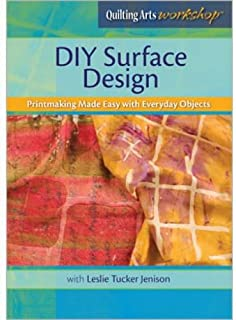 DIY Surface Design Printmaking Made Easy with Everyday Objects DVD