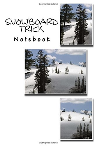 Snowboard Trick Notebook