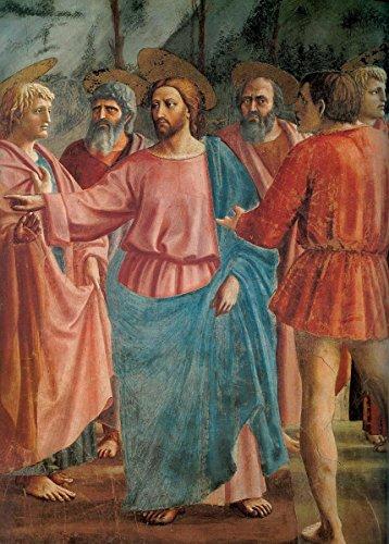 Gifts Delight Laminated 14x20 Poster: Tommaso Masaccio - The Tribute Money Masaccio