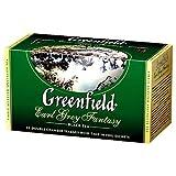 Black Tea Greenfield Earl Gray Fantasy, 25 piezas