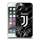Head Case Designs - Funda protectora oficial de la Juventus F.C. temporada 2017/18, gel suave, diseño mármol, para iPhone