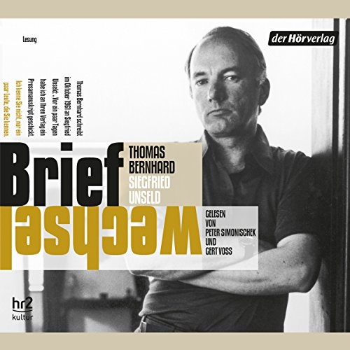 Briefwechsel audiobook cover art