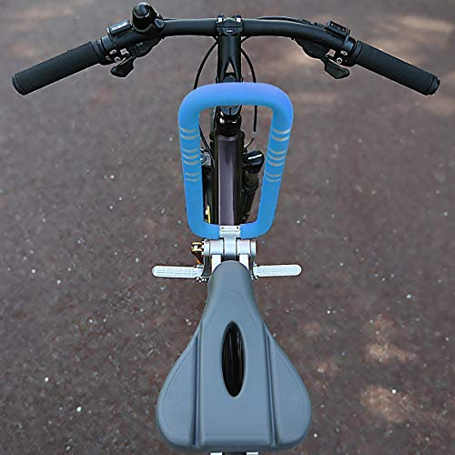 UrRider Child Bike Seat, Portable, Foldable & Ultralight Front Mount Baby Kids' Bicycle Carrier Handrail Mountain Bikes, Hybrid Bikes, Fitness Bikes