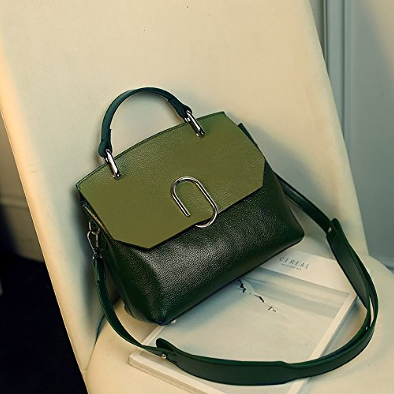 MDRW-Damenhandtaschen Mode Farbe Handtasche Crossbody Bag Tasche All-Match Singles