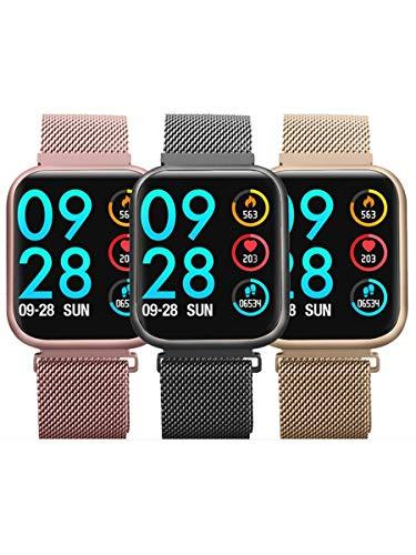 Relógio Inteligente P80 2 Pulseiras Envio Imediato Produto Original app DaFit