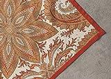 Maison d' Hermine Kashmir Paisley 100% Baumwolle Weiches und bequemes 4er-Set Servietten für Familienessen   Hochzeiten   Cocktail   Küche   Startseite   Erntedankfest/Weihnachten (45 cm x 45 cm) - 5