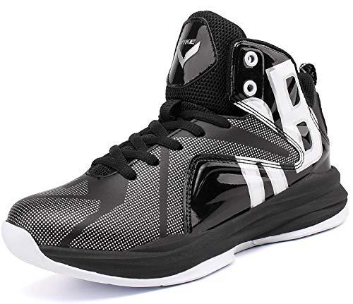 Zapatos de Baloncesto para Niños(Negro EU37)