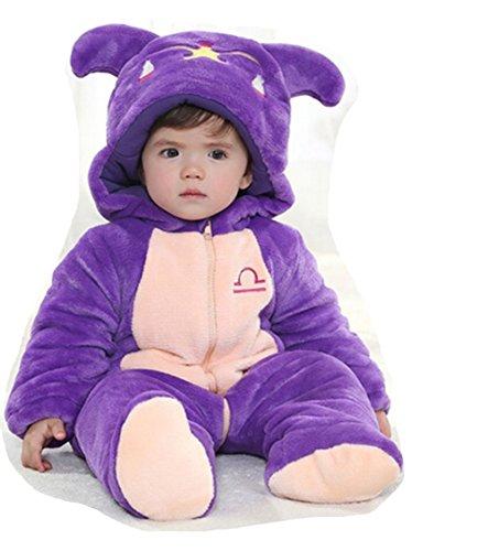 OHmais Bébé Fille garçon Unisexe Grenouillère Costume Deguisement Combinaison Pyjamas vêtement Hiver épaissi Balance