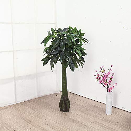 NLRHH Plantas artificiales, 140 cm árbol rico sin maceta grande verde sala de estar decoración del suelo de plástico bonsái plantas artificiales árbol (color 1,4 m), 1,4 m (color: 1,4 m)