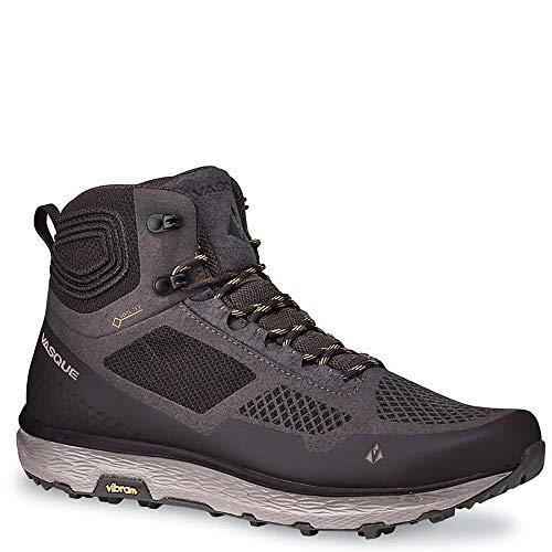 Vasque Men's Breeze LT GTX MID Hiking Boot, Rabbit/Tawny Olive, 11