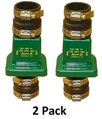 Zoeller 30-0181 PVC Plastic Check Valve, 1-1/2 Inch (2 Pack) by Zoeller