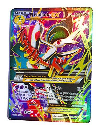 Pokemon - Mega-Gallade-EX (100/108) - XY Roaring Skies - Holo