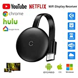 Stick De TV para El Nuevo Google Chromecast para Netflix Youtube WiFi Pantalla HDMI Dongle Inalámbrica Miracast para Android iOS PC