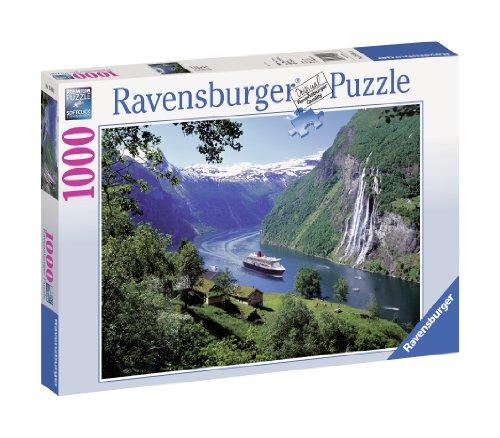 Ravensburger Puzzle 15804 - Norwegischer Fjord - 1000 Teile