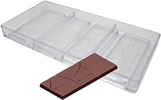 Goldbaking Plain Bar Chocolate Mold Polycarbonate Candy Bar Mold Fancy Bars PC Chocolate Mould