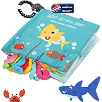Bebe Mondo Baby Shark Cloth Book