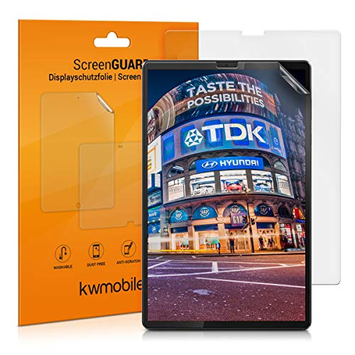kwmobile 2x Screen Protectors Compatible with Lenovo Tab M10 FHD Plus (2. Gen) - Anti-Scratch, Anti-Fingerprint Matte Tablet Display Films