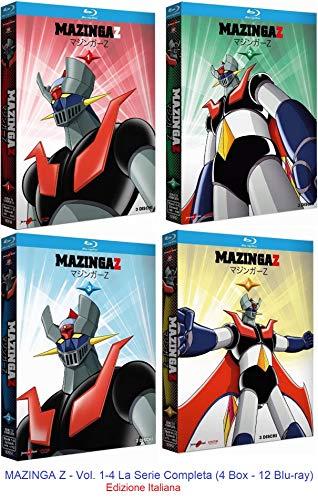 MAZINGA Z - Vol. 1+2+3+4 (12 Blu-Ray) Ed. Italiana