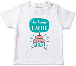 Beb/é Cumplea/ños Fiesta Manga Corta AMZTM Tibur/ón Camiseta de Cumplea/ños