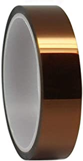 High Temperature Kapton Tape Polyimide Film Tape,High Temp Tape for Masking Soldering 3D Printing (1