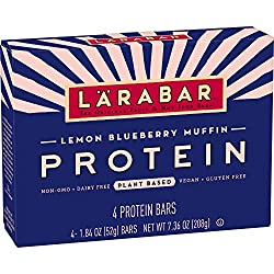 LARABAR Protein Lemon Blueberry Muffin, MultiPack, 4 Count