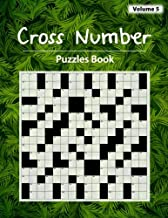 Cross Number Puzzle: Math equations replace the the word hints, Addition, Subtraction, Multiplication, Division, Workbook skills, Volume 5
