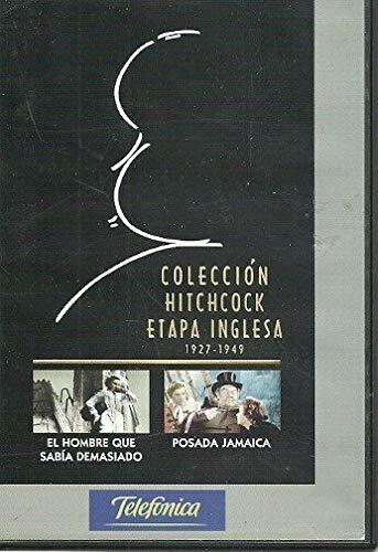 Colección Hitchcock ETAPA INGLESA (1927-1949) Vol. 2. El Hombre que sabía demasiado...