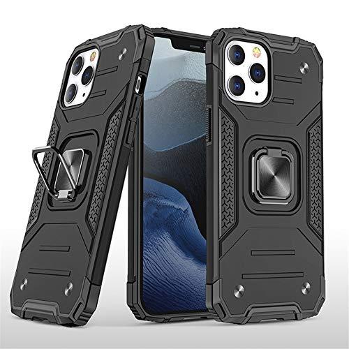 RZL Teléfono móvil Fundas para iPhone Pro MAX 12 12 Mini, Shell Pata de Cabra de Silicona a Prueba de Golpes Soporte para Coche magnético de Carga inalámbrica del teléfono del iPhone para el 12