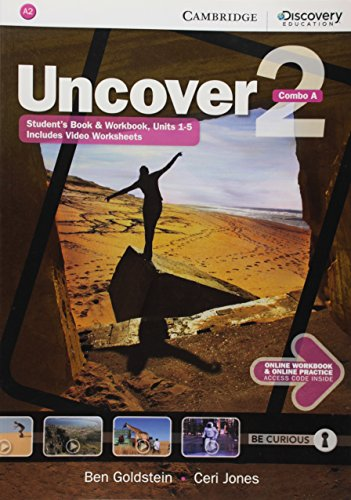 Uncover 2 - Combo a - With Online Workbook and Online Practice