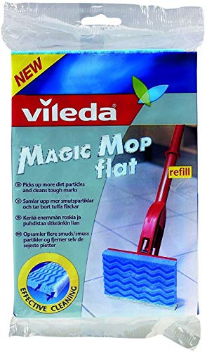 Vileda magique Mop Plat recharge Lot de 12–096672 X 12